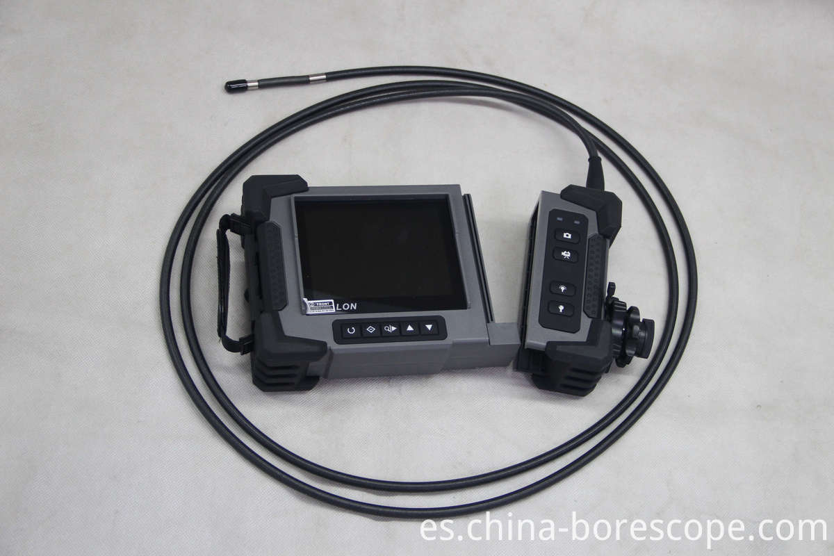 Industrial pipe inspection camera