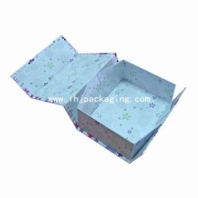 Embalagem de papel de luxo Gift Folding Box
