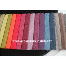 Высокого quaity обычная/печать белье ткань для диван