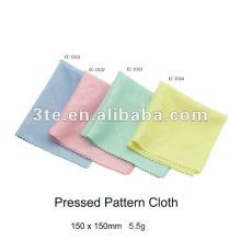 Tissu de nettoyage à lentille microfibre, chiffon de nettoyage de lunettes