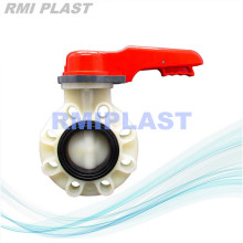 PVDF Butterfly Valve Lever Handle
