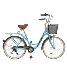 """Bicicleta de la ciudad Bicicleta trasera 7speed 24 """"(FP-LDB-042)"""