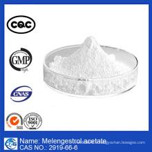 Fabriqué en Chine et 99% d'acétate de mélengestrol à la pureté