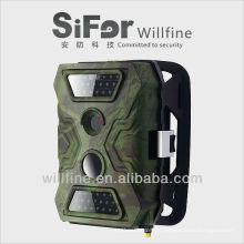 5/8/12 MP 720 P vídeo planejado 3G & Wifi SMS / mms / gsm / GPRS / câmera de trilha de visão noturna gsm smtp sem flash