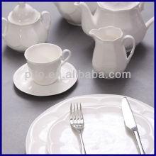 P & T Porcelana fábrica hotel vajilla café conjunto