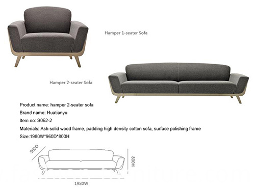 hamper 2-seater sofa1