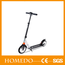 """Adult kick scooters folding height adjustable 8"""" big fat wheel scooter"""