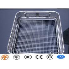 woven mesh/crimped mesh/welded mesh sterilization basket