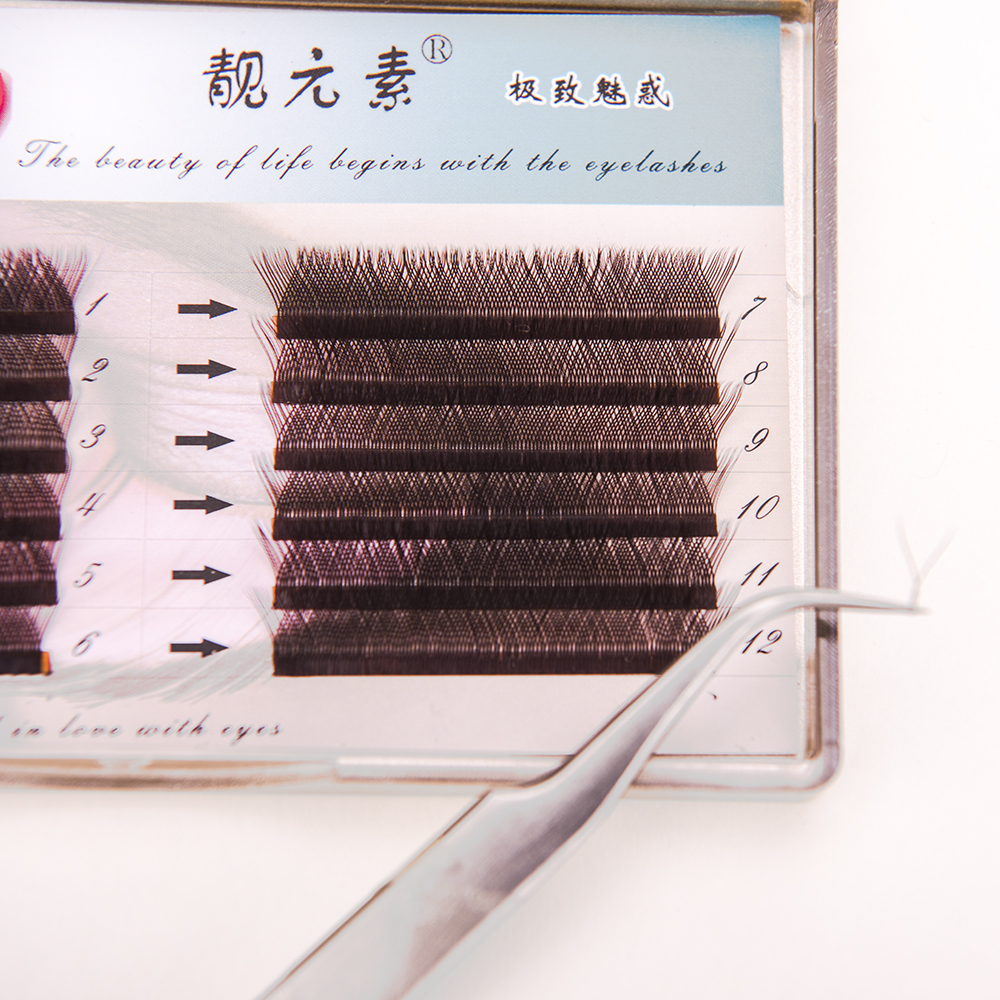 Y shape eyelash extension