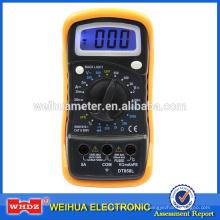 Popular Digital Multimeter DT858L CE con temperatura con GS