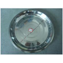 2015 Venda Quente 35/40/45 cm de Aço Inoxidável Escovado Plate-Lfc10334-2
