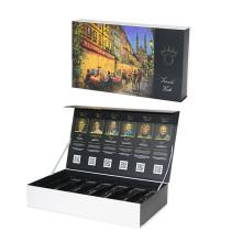 Wine Box With Black Plastic Tray
