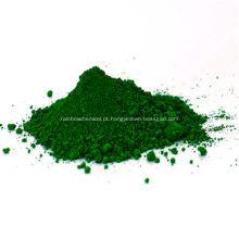 Óxido de cromo verde para pavimentação