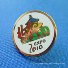 Gold Plated Promotion Soft Enamel Pin Badge (GZHY-SE-023)