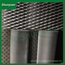 Preço do fabricante alumínio achatado malha de metal expandido / malha de arame