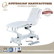 TUV Aprovado Fabricante Australiano 5 Seções Tratamento Cama Mesa De Massagem Fisioterapia Cama Tratamento Móvel