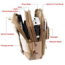 Étui de poche pour téléphone portable de l'armée militaire