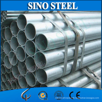 Q195 Schweißrohr aus verzinktem Stahl Stahlrohr für den Bau
