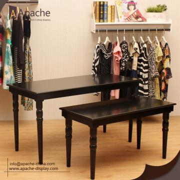 Wooden Multi-size Retail Store Furniture Display Table