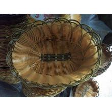 Venta caliente cesta plástica del pan; Cesta de frutas de plástico; Cesta de almacenamiento de plástico