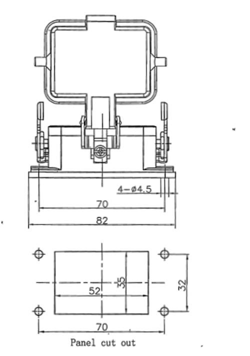 Metal Connector Single Lever Heavy Housing