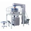Máquina de embalaje de sello de relleno de forma vertical con pesadora combinada