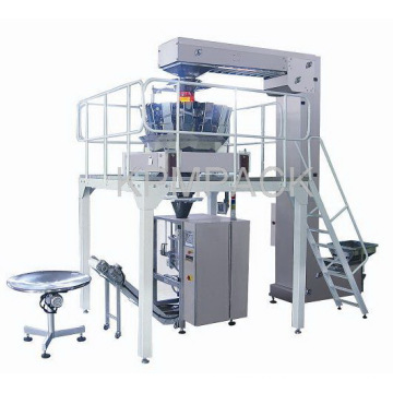 Vertical Form Fill Seal Verpackungsmaschine mit Kombinationswaage