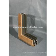 China excelentes molduras de alumínio de madeira de qualidade