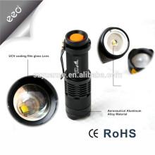 China lanterna lanterna led, melhor saler lanterna interruptor botão