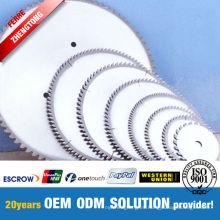Cortador de discos de fibra de molienda 100% Vrigin