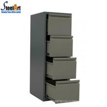 Дешевой цене офисный стальной шкаф архива с 4 ящиками