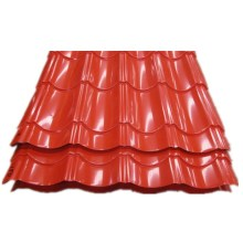 Lätt att installera Förmålad Corrugated Roof Steel Tile
