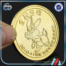 copper blank gold challenge coin