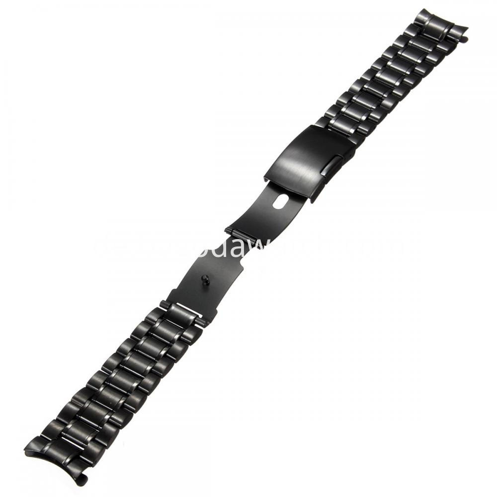 Black Stainless Steel Watch Band