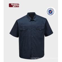 High quality TC 65/35 polyester cotton workwear uniform work shirts