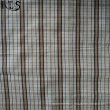 Хлопок Поплин тканые пряжи, окрашенной ткани для одежды рубашка/платье Rls40-40po