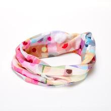 Foulards de randonnée en tube de polyester imprimé OEM Foulard bandana