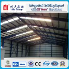 Prix préfabriqué d'entrepôt de structure métallique préfabriquée bon marché