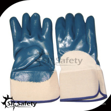 SRSAFETY cheap price heavy duty nitrile glove manufacturer