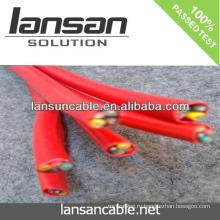 LANSAN Высокое качество заводской цены Красный неэкранированный аварийный кабель