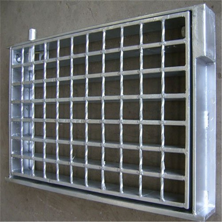 Galvanized Grating Platform Steel Mesh Grid Grating Plate
