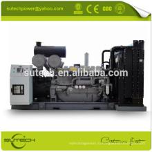 Контейнерного типа или открытого типа 1250ква молчком тепловозный генератор приведенный в действие УК оригинальный двигатель Перкин 4012-46TWG2A