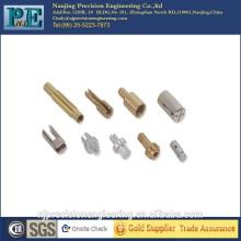 Conector de tubería de metal de mecanizado CNC de grado superior