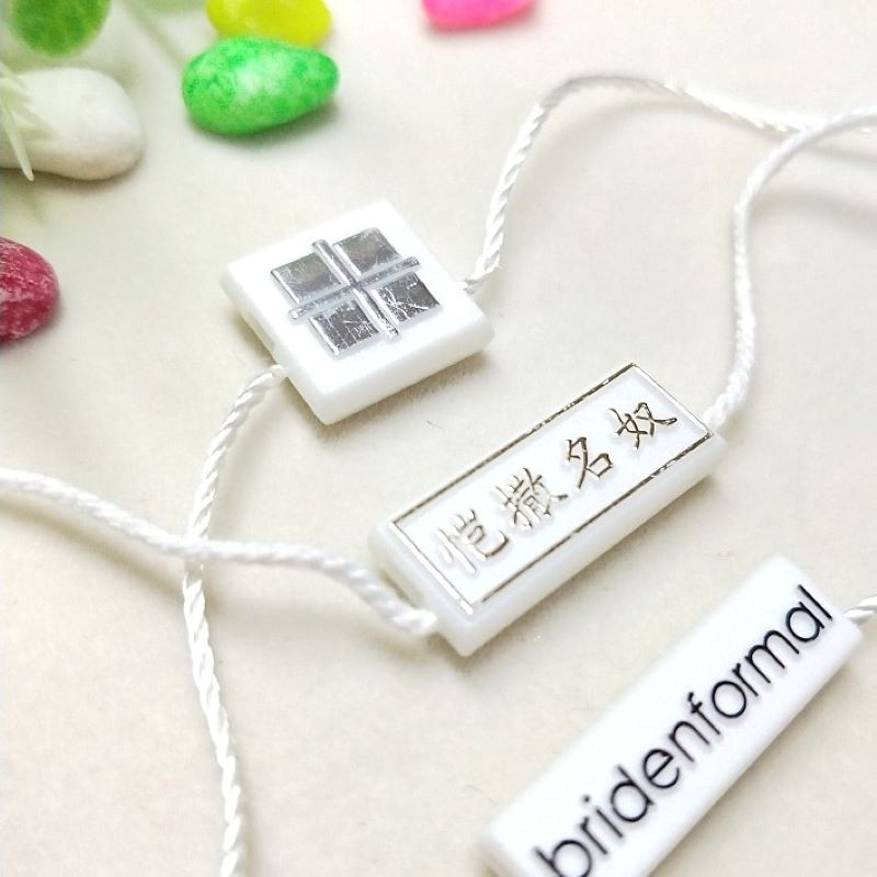 Multifarious retail hang tags for merchandise