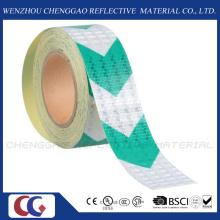 High Visibility Green Arrow Hazard Reflective Roll Tape (C3500-AW)