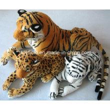 Animal de pelúcia Tiger Forest Realistic Plush Toy