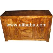 Plain Cube Design Sideboard