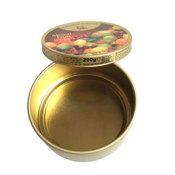 Colorful Metal Tin Packaging for Candy Storage Box
