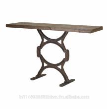 Table de console en bois