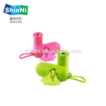 High-quality-biodegradable corn starch dog poop bag